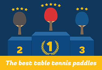 Best 9 table tennis paddles