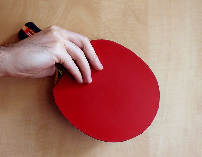 table tennis chinese penhold grip