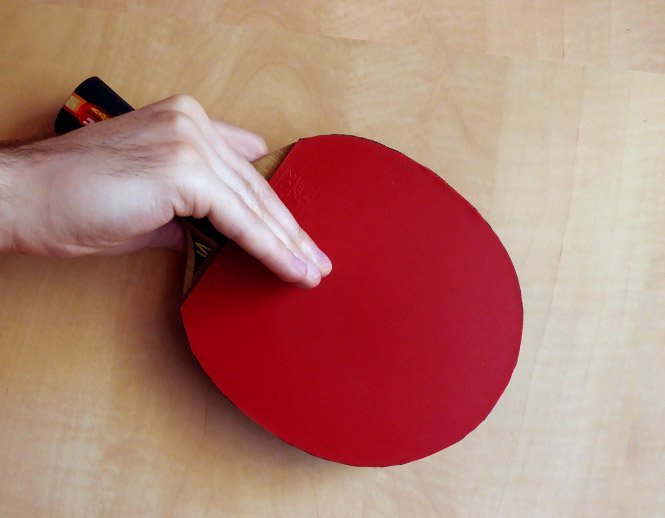 table tennis japanese/korean penhold grip