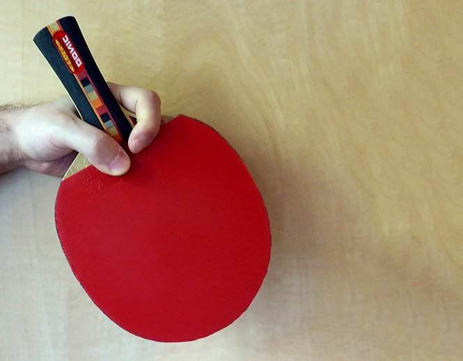 table tennis penhold grip