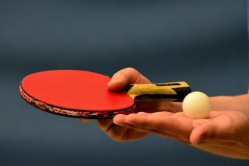 paddle and ball