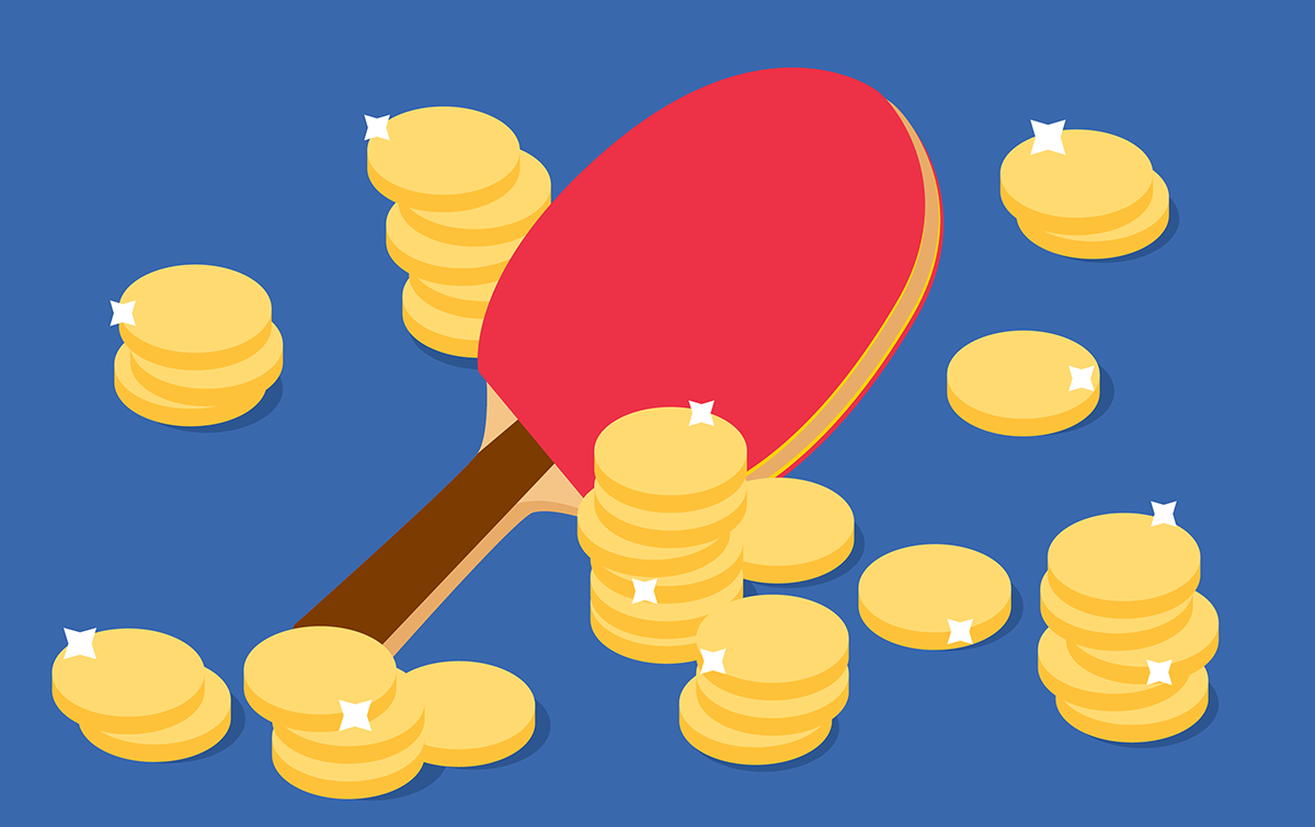 What is the most expensive ping pong paddle?