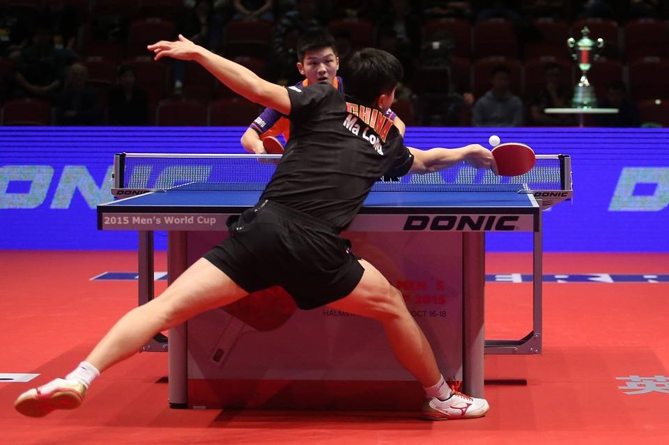 Table tennis footwork drills