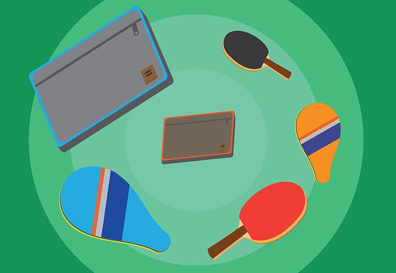 best ping pong cases